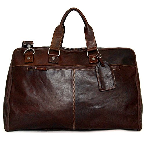 Garment Bag Valet (Jack Georges Voyager Collection Large Convertible Valet / Garment Bag 7550 (BROWN))