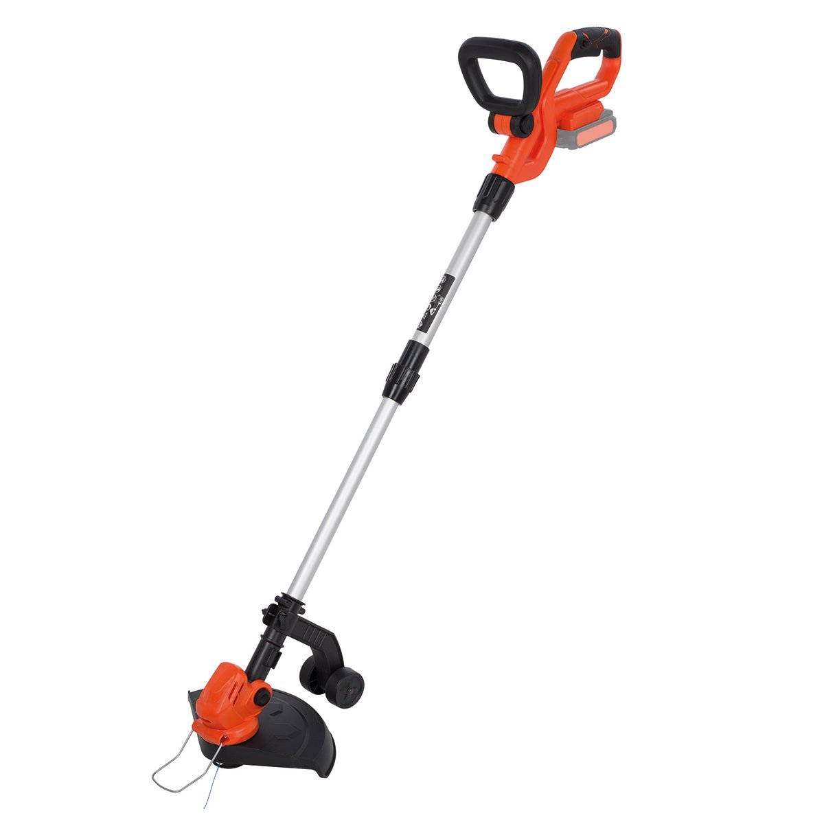 Powerplus Dual Power 20v Li-Ion Grass Trimmer/Strimmer Body Only with Telescopic Shaft, Brushless Motor, Adjustable Soft Grip Handle & Automatic Spool Feed POWDPG7540 - 3 Years Warranty
