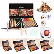lobezm Marco Renoir 24 Colors Pencil Oil Base Professional Artist Drawing Sketching (24 Colors)