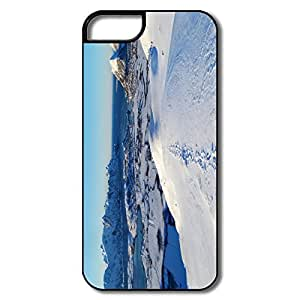 IPhone 5S Cases, North Norway Sea Cases For IPhone 5 - White/black Hard Plastic