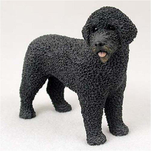 Portuguese Water Dog Original Dog Figurine (4in-5in)