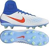 Nike Magista Orden II FG Soccer Wmns Sz 8.5 New 844223-164 Pure Platinum Blue