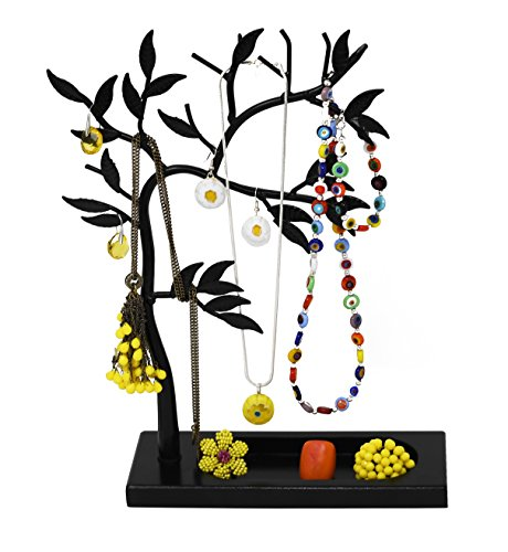 y Tree - Necklace, Bracelet, Earring and Ring Jewelry Holder (BLACK) ()