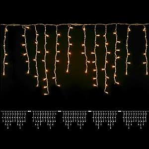 Cortina 190Maxi luces ad Incandescenza–500x h 50cm)–transparente