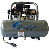 California Air Tools CAT-1610A Ultra Quiet and Oil-Free 1.0 Hp 1.6-Gallon Aluminum Tank Air Compressor