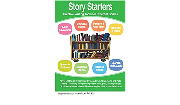 Story Starters - Creative Writing Tools for Different Genres