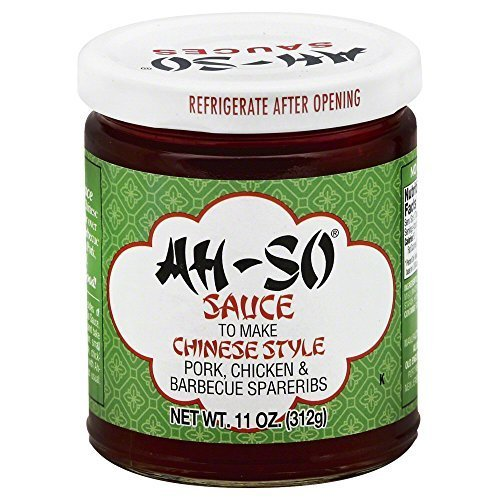 Ah So Sparerib Sauce, 11 oz (Pack of 4)