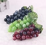 3pcs Decorative Artificial Plastic Fruits Home Party Decor