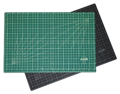 Adir Professional Self Reversible Healing Cutting Mat, 18 by 36-Inch, Green/Black by Adir Corp. by Adir Corp.