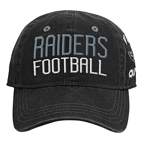 Outerstuff NFL NFL Oakland Raiders Infant My First Slouch Hat Black, Infant One Size
