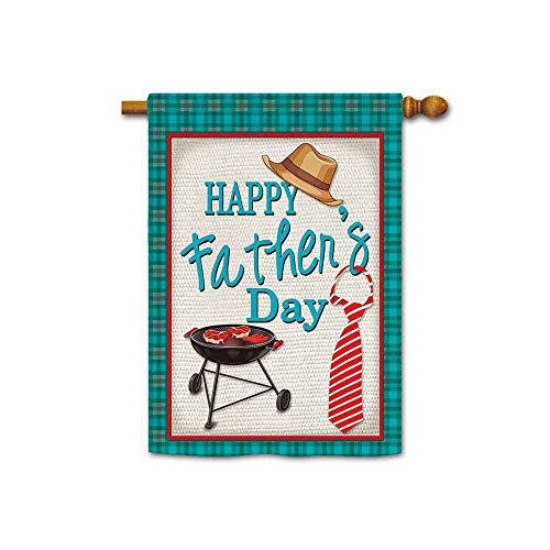 (KafePross Happy Father's Day House Flags House Flags 28
