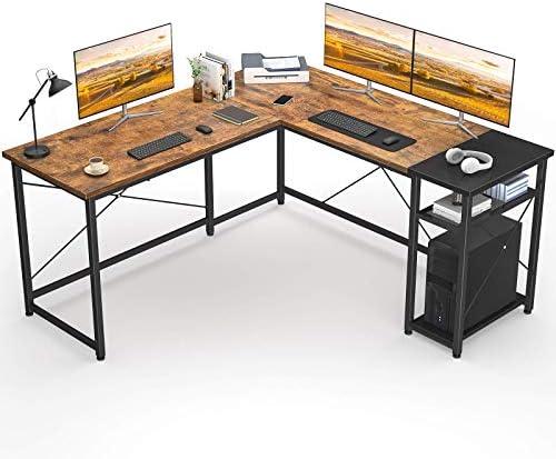 Karcog L-Shaped Desk 51.2″ Computer Corner Desk