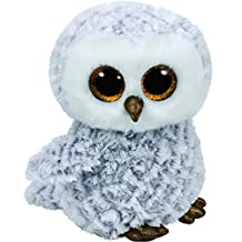 TY Beanie Boo's OWLETTE Grey White Owl Gold Beak 2016 Summer NEW RELEASE