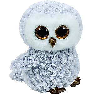 "ty beanie boo 6"" owlette the owl - 51CPCvL eJL - Ty Beanie Boos Owlette – White owl reg"