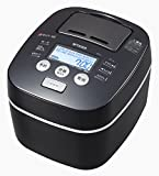 TIGER rice cooker cooked pot pressure IH rice cooker Urban Black 5.5 Go JKX-V101-KU