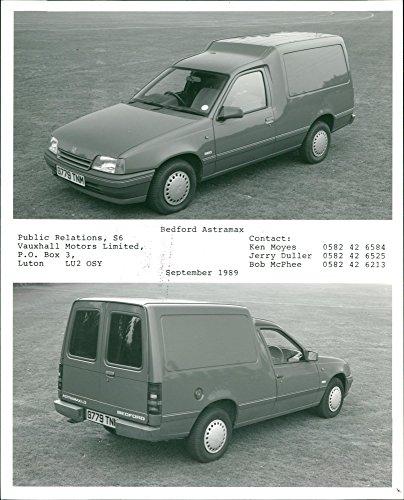 Vintage photo of Vans: Bedford Astramax ()