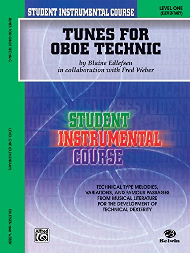 - Student Instrumental Course Tunes for Oboe Technic: Level I
