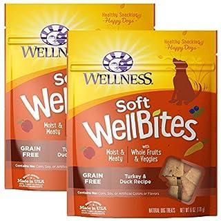 Wellness Natural WellBites Soft Dog Treats (Turkey & Duck, 12-Ounce)
