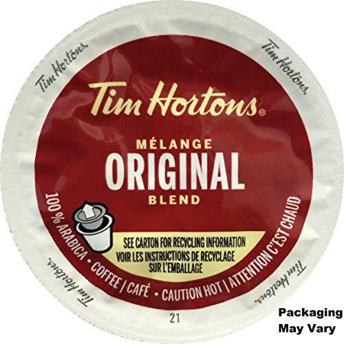 Tim Hortons Single Serve Original Blend Coffee 48 Count