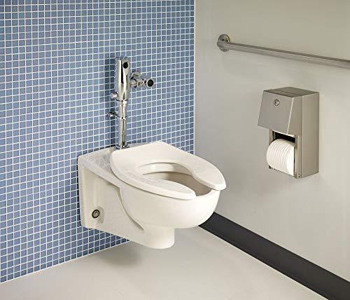 American Standard 2257101.020 2257.101.020 Toilet Bowl, 15.00 in wide x 14.00 in tall x 26 in deep, White American Standard Afwall Wall