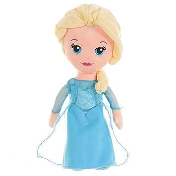 Disney Congelados Ice Queen - Figura Peluche Elsa 30 cm