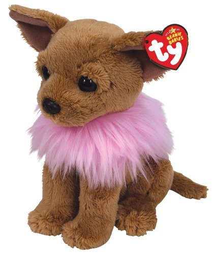 f05bc85e1fe Amazon.com  Ty Beanie Babies Divalectable - Chihuahua with Fluffy ...