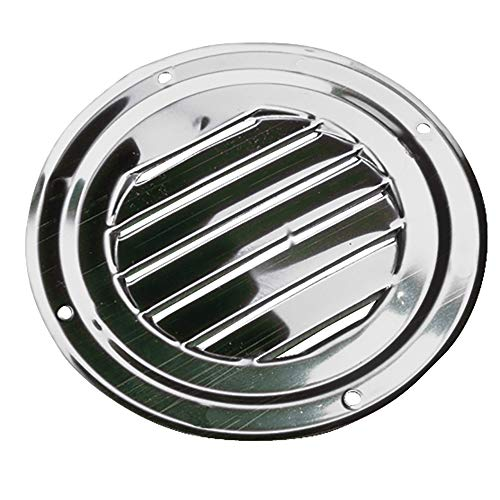 Sea-Dog Stainless Steel Round Louvered Vent, 4