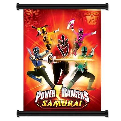 Power Rangers Samurai TV Show Fabric Wall Scroll Poster 16quot X 21quot