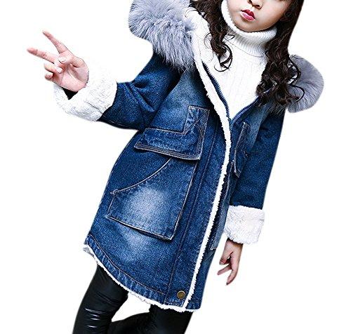 Girls Faux Shearling Coats - 2