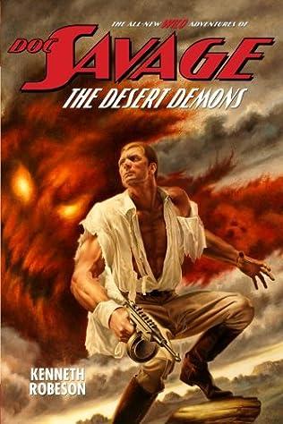 book cover of The Desert Demons