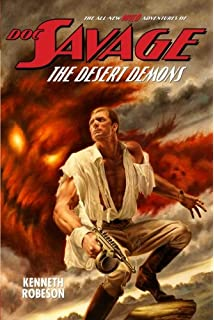 Man of bronze doc savage 1 vintage bantam e2853 kenneth doc savage the desert demons wild adventures of doc savage fandeluxe Images
