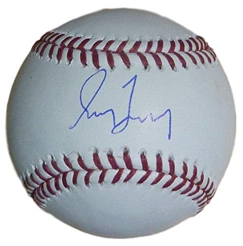 Greg Maddux Autographed Baseball - Greg Maddux Autographed Atlanta Braves OML Baseball (Name Only) JSA