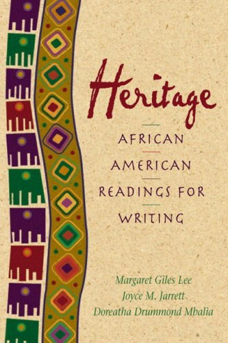 Search : Heritage: African American Readings for Writers (2nd Edition)