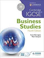 Cambridge IGCSE® Business Studies, 4th Edition Front Cover