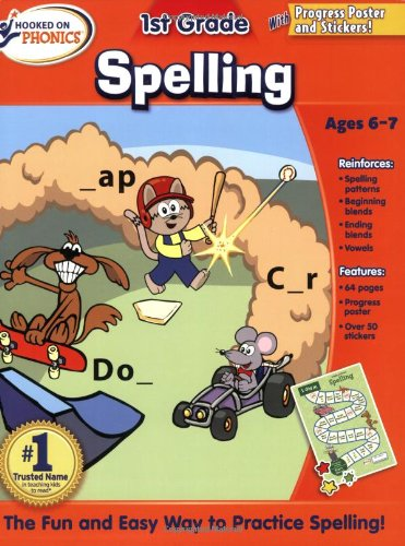 Hooked on Phoncs 1st Grade Spelling Workbook (Hooked on Phonics) ebook