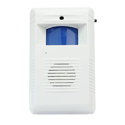 Pinzhi Inicio Tienda Inalámbrica Puerta De Entrada Timbre De Bienvenida Alarma Detector De Movimiento Del Sensor