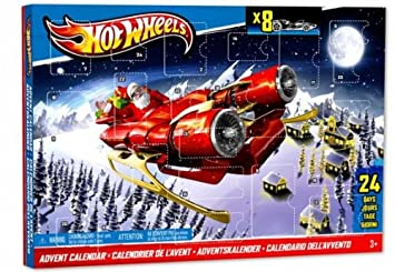 Weihnachtskalender Hot Wheels.Mattel Hot Wheels Bcw12 Adventskalender