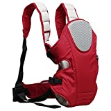 Hynes Eagle 3 in 1 Convertible Baby Carrier,7.7-26 lbs,3-18 months (Red)