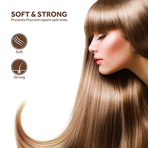 Moroccan Argan Oil Shampoo and Conditioner Set, Organic Volumizing & Moisturizing Treatment for Hair Loss, Damage, Thinning and Color Treated Hair, Hair Regrowth for Men & Women, 2 x 16 fl. oz. by Aprilis (Image #5)