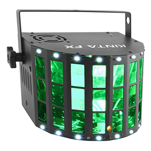 Chauvet Kinta FX DJ Lighting Multi Effect LED Derby Laser Strobe Effect Light by Chauvet
