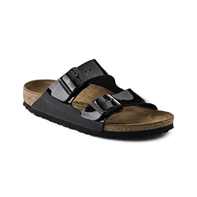 Image Unavailable. Image not available for. Color  Birkenstock Womens  Arizona Black Patent ... 168d377357