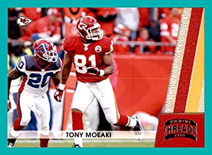 2011 Panini Threads #76 Tony Moeaki KANSAS CITY CHIEFS at Amazon's