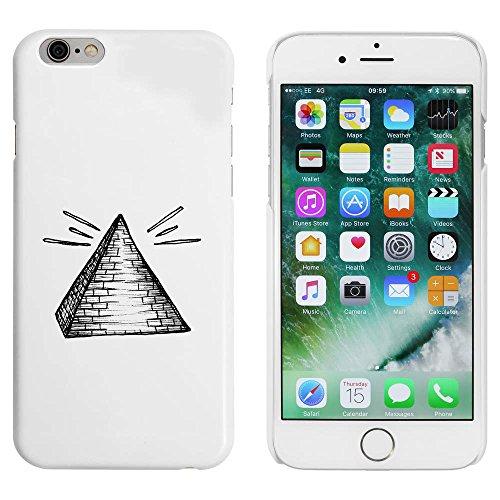 Weiß 'Pyramide' Hülle für iPhone 6 u. 6s (MC00045314)