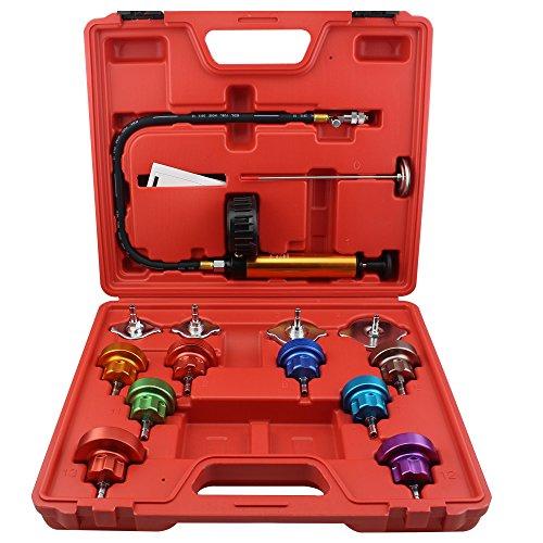 Ronben 14Pcs Cooling System Tester Radiator Pressure Test Gauge Set Garge Tool Kit,DHL Shipping by Ronben