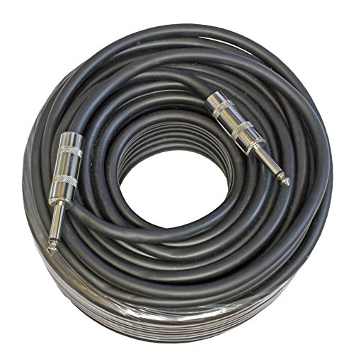 MCSPROAUDIO 12 Gauge Speaker Cables 2 Cable Pack (100 Foot, 1/4 inch to 1/4 inch) by MCSproaudio (Image #2)