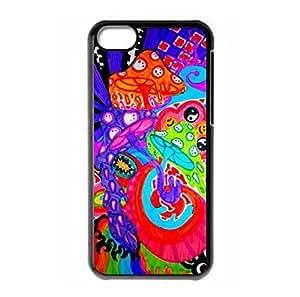 Fantasy Trippy logo Design for iPhone 5C hard back shell