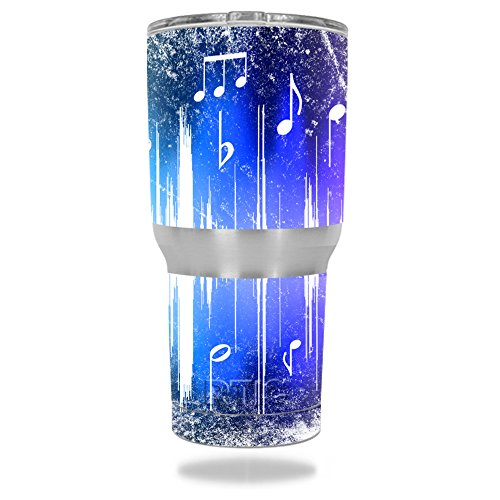 MightySkins Protective Vinyl Skin Decal for RTIC Tumbler 30 oz (2016) wrap cover sticker skins Music Man
