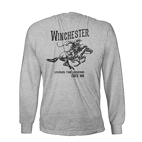 Official-Winchester-Mens-Cotton-Vintage-Rider-Graphic-Printed-Long-Sleeve-T-Shirt