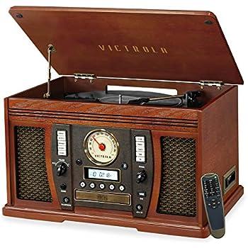 Amazon.com: Pyle Home ptcds7ui Tocadiscos retro clásico con ...