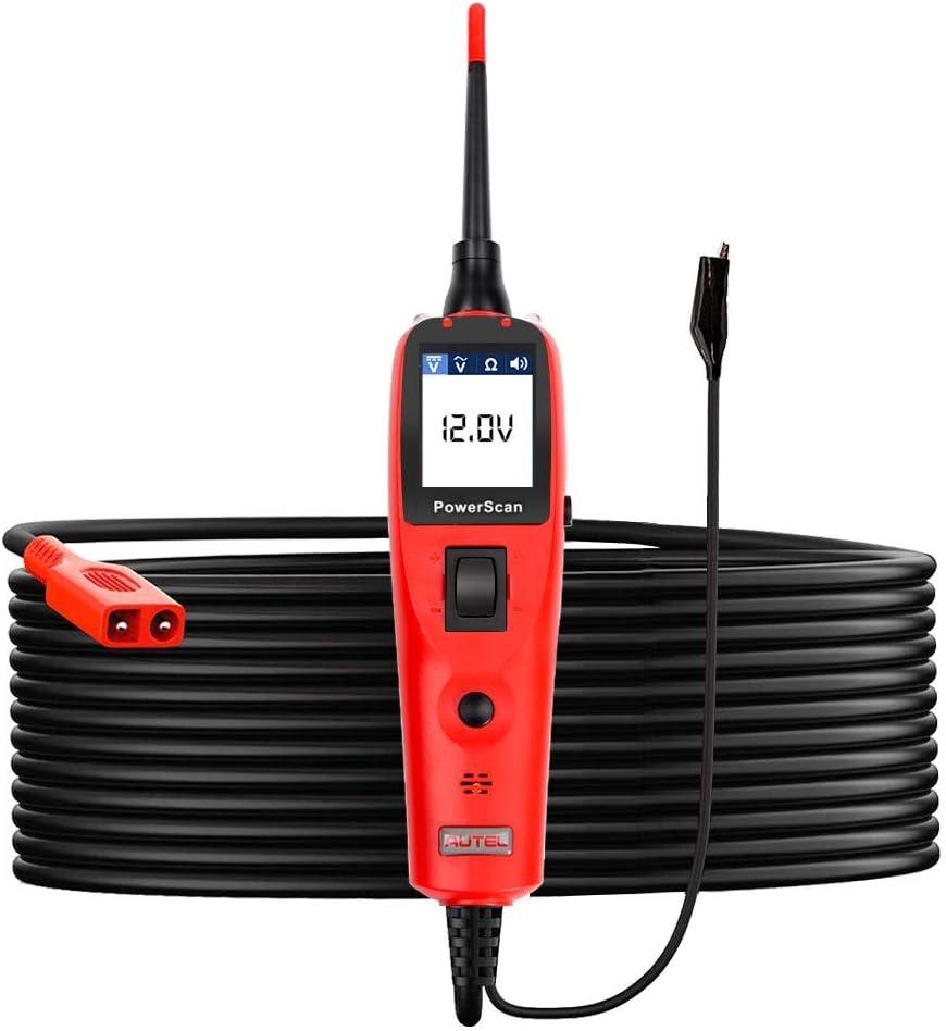 Autel PowerScan PS100 Diagnosis Sistema Eléctrico Comprueba Circuito del Automóvil